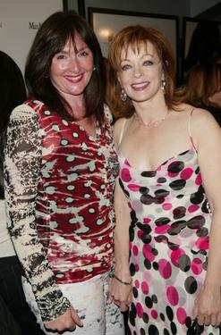 Nora Dunn and Frances Fisher at the premiere of &quot;Laws Of Attraction.&quot;